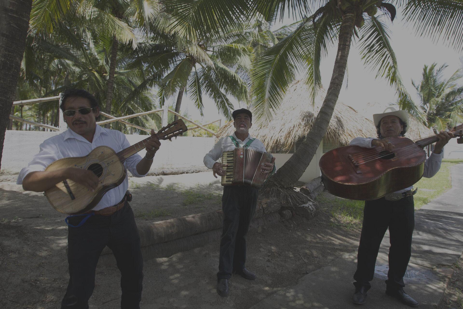 Mariachi Band at Azul Surf Club
